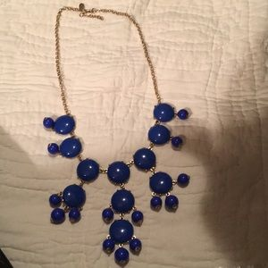 lly Couture Royal Blue Necklace